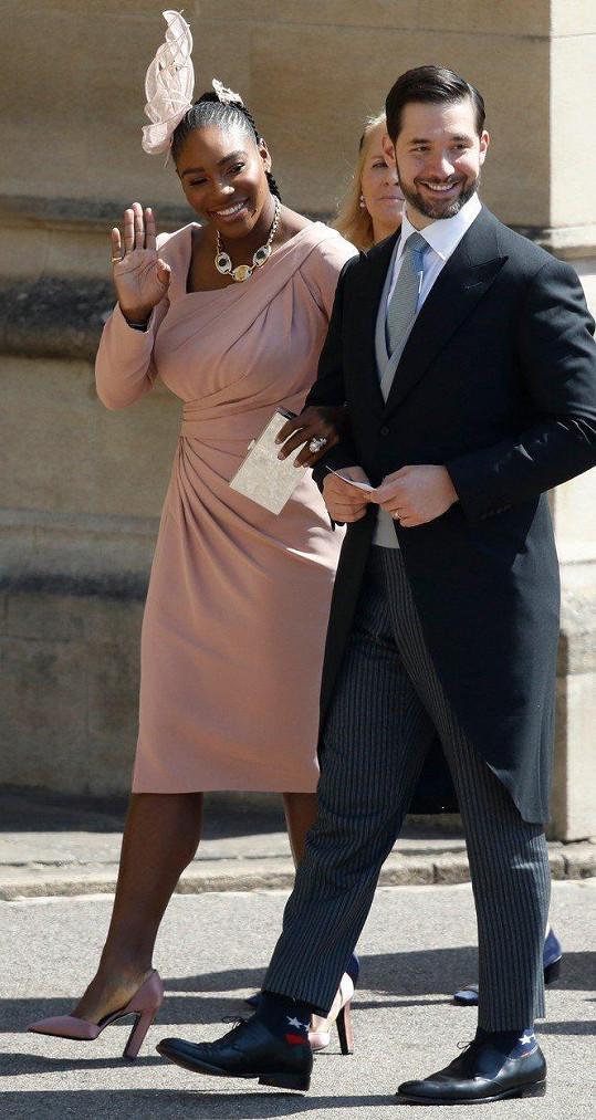 Serena Williams s manželem Alexisem Ohanianem