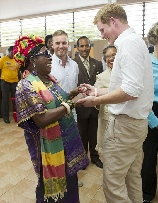 Setkání s Ritou Marley prince Harryho velmi ovlivnilo.