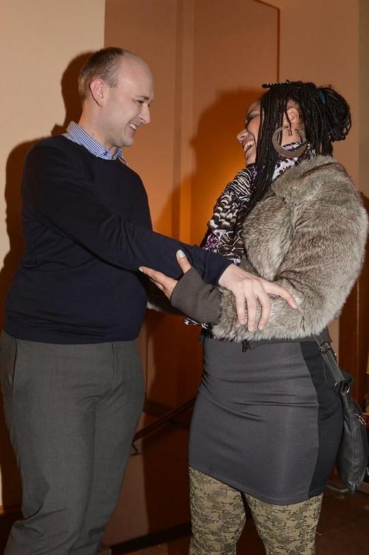 Madalena Joao s Davidem Novotným.