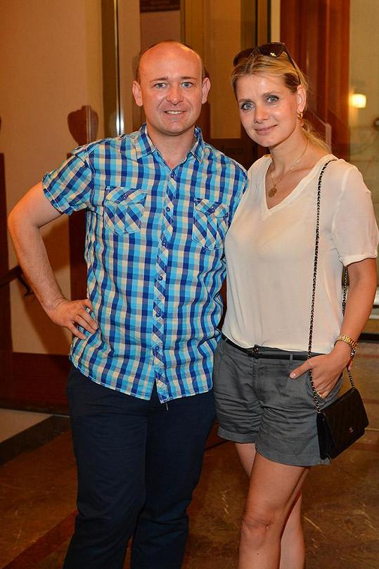 Lucie Koňaříková s Davidem Novotným