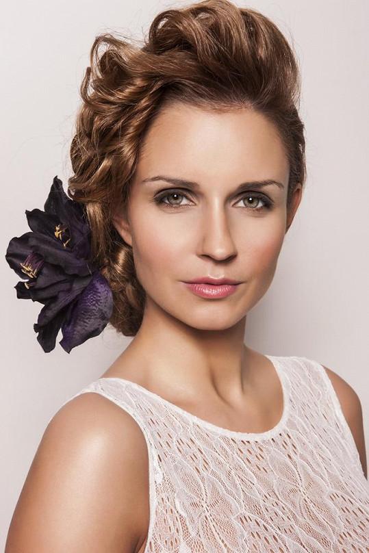 Tereza Juščíková si vyzkoušela roli modelky.