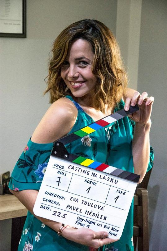 Tereza Němcová Petrášková hraje hlavní roli a je i autorkou námětu.