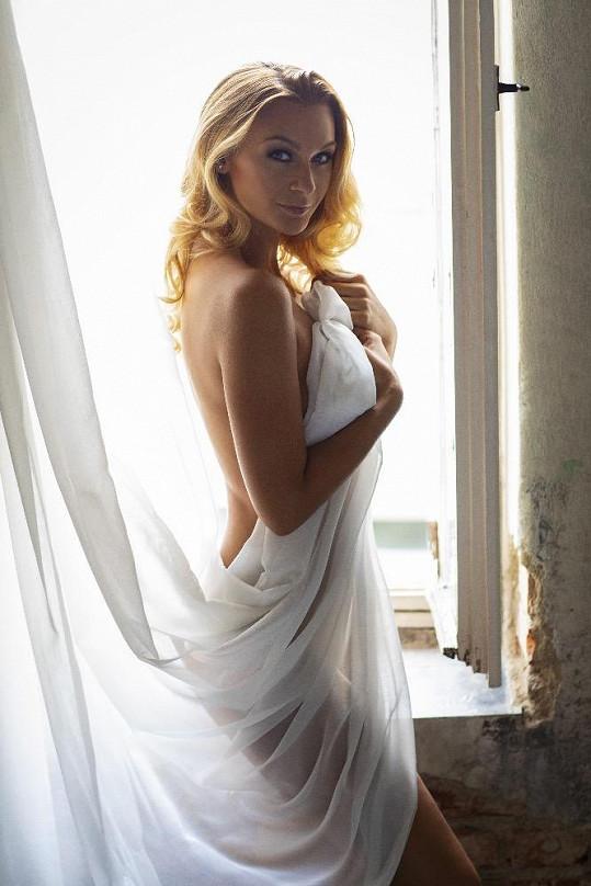 Barbora zapózovala úplně nahá.