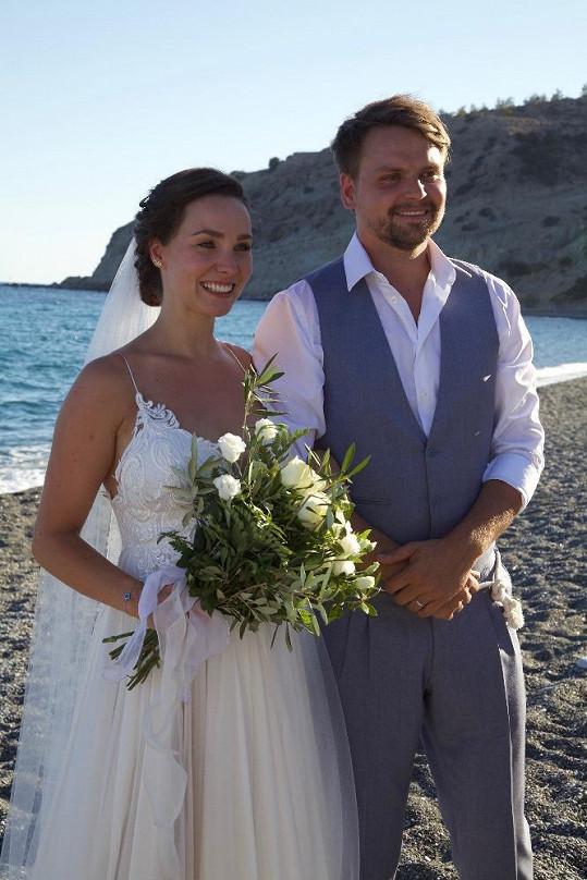 Od řecké svatby Pepy Vágnera už uplynul rok.