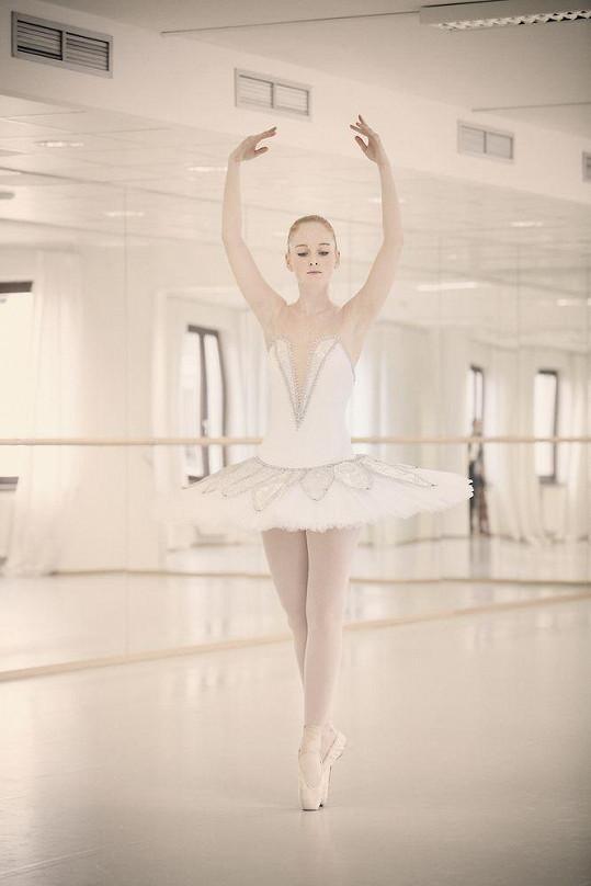Jako baletce Meg jí to bude slušet.