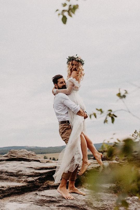 Nikol Moravcová a Karol si vyzkoušeli svatbu nanečisto.