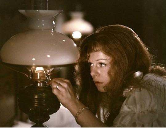 Iva Janžurová si zahrála v Herzově filmu Petrolejové lampy.