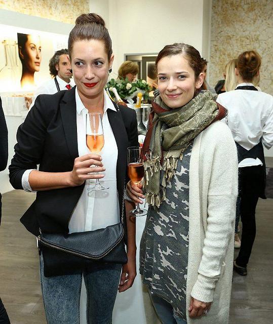 Marika Šoposká s kolegyní Lenkou Zahradnickou