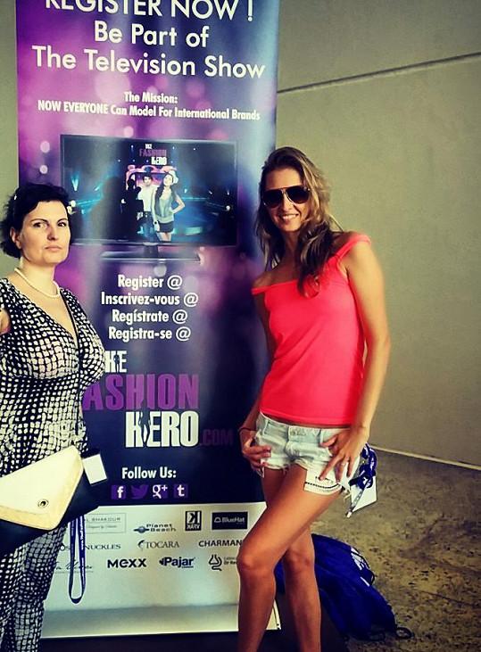 Lenka Šourková Toman a Libka Safr