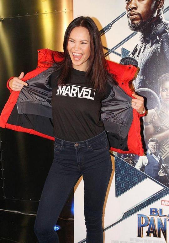 Monika Leová je komiksovou fanynkou.