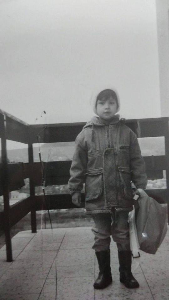 V dětství vypadala finalistka České Miss spíš jako kluk.