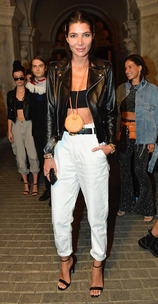 Monika Marešová skvěle realizovala svůj oblíbený pánský styl.