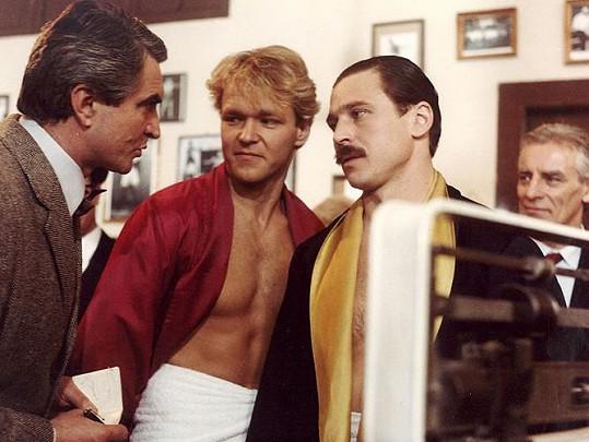 První velkou roli dostal Josef Nedorost ve filmu Pěsti ve tmě (1986).