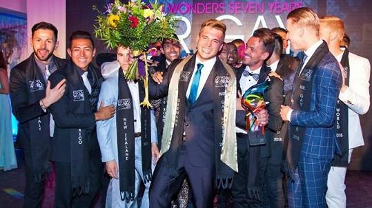 Klaus Burkart se stal nejkrásnějším gayem roku v Jihoafrické republice.