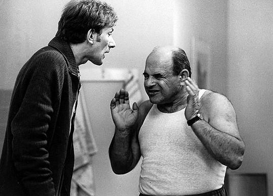František Husák a Josef Šebánek v Hogo fogo Homolka(1970)