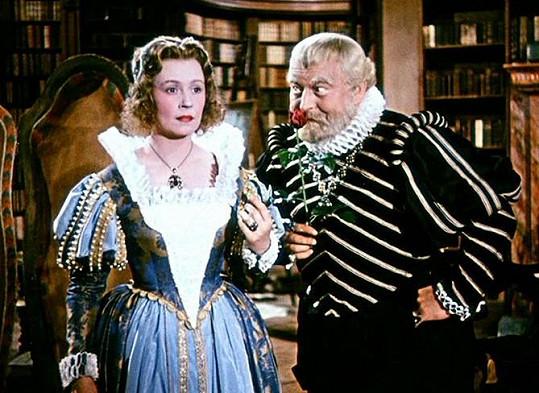 Tajemnou dívku Sirael hrála v historické komedii s Werichem pod Fričovým vedením Nataša Gollová.