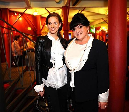 Andrea Verešová s maminkou.