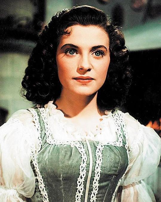 Milena Dvorská se proslavila rolí pohádkové Marušky ve filmu Byl jednou jeden král.