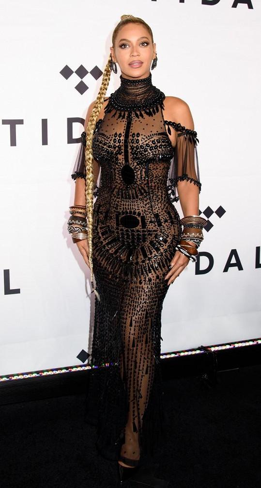Beyoncé na galavečeru v New Yorku