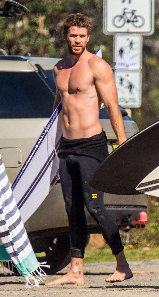 Liam není o tolik pozadu.