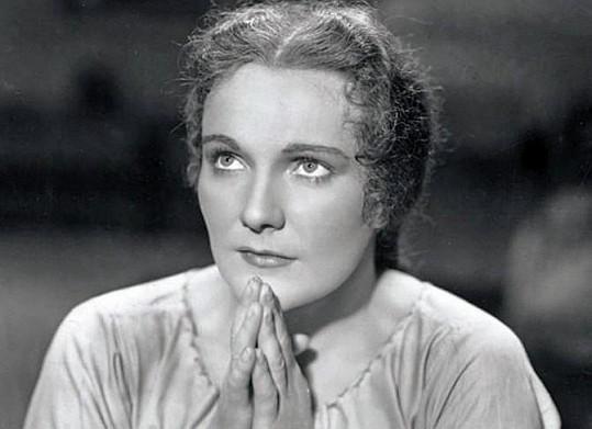 Jiřina Štěpničková jako Viktorka v Babičce