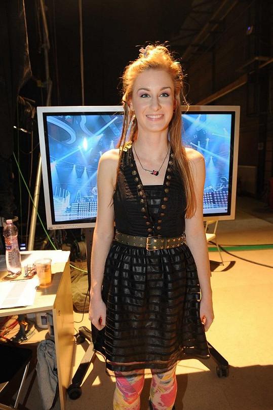 Sabina Křováková je jedinou dívkou, která zbyla v SuperStar.