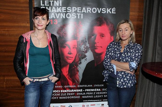 Hanka Vagnerová s Vandou Hybnerovou budou hrát ve Snu noci svatojánské.