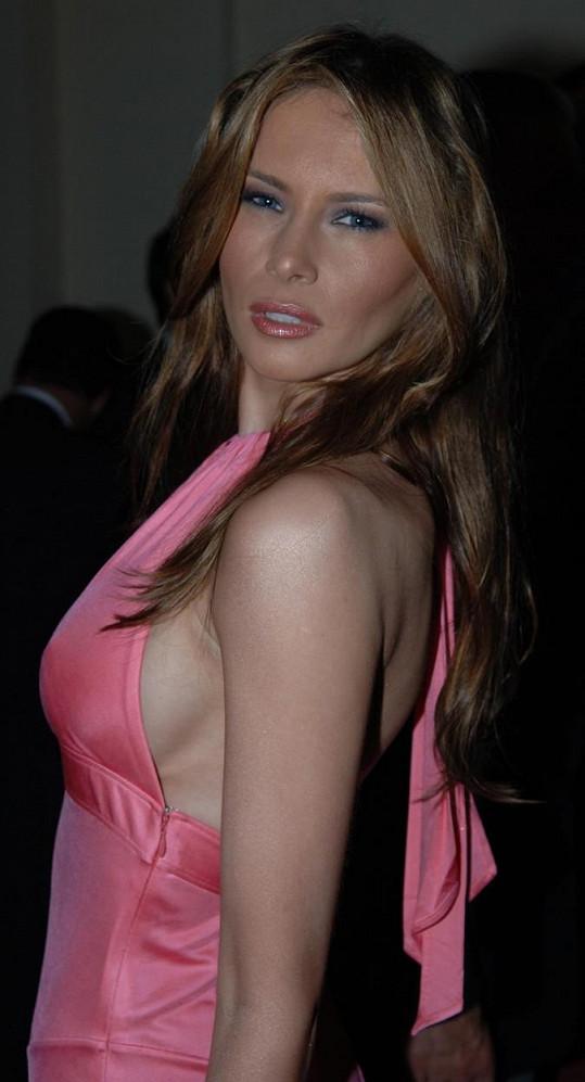 Rodačka ze Slovinska v roce 2005, kdy se provdala za Donalda Trumpa.
