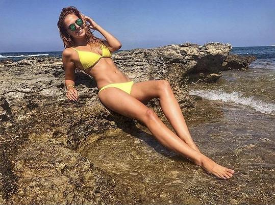 Lucie Kovandová odletěla na Kypr.