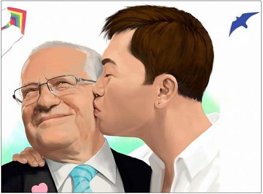 Václav Klaus nebude mít z tohoto obrazku asi radost.