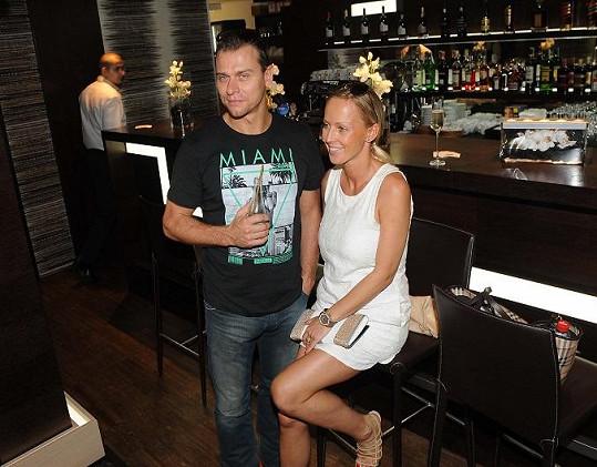 Zuzana Belohorcová s manželem Vlastou Hájkem