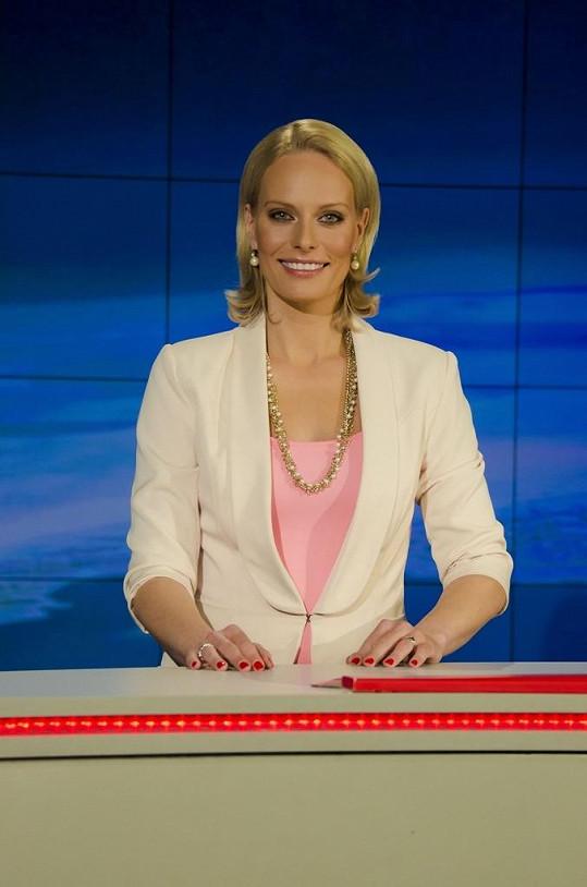 Kristina Kloubková se vrací na televizní obrazovky.