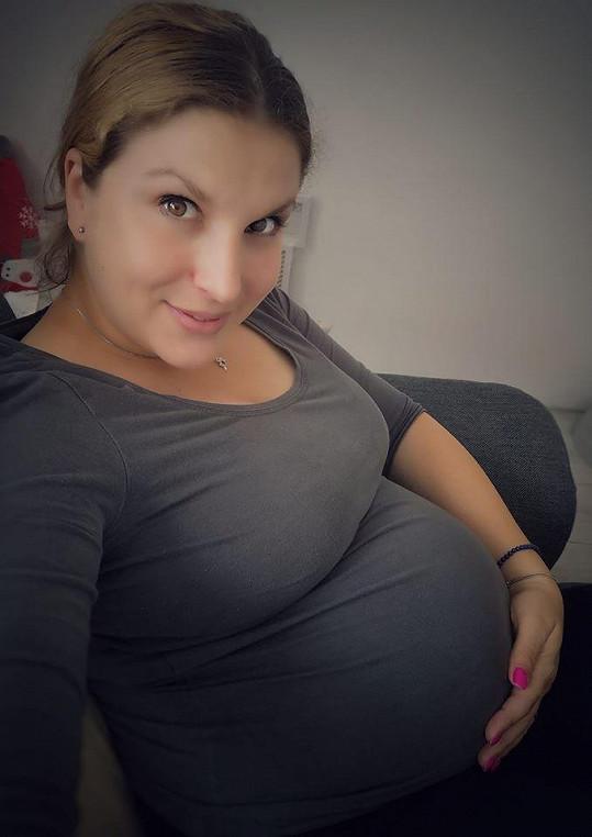 Moderátorka Marcela Škábová Tomčíková se těší na druhého potomka.
