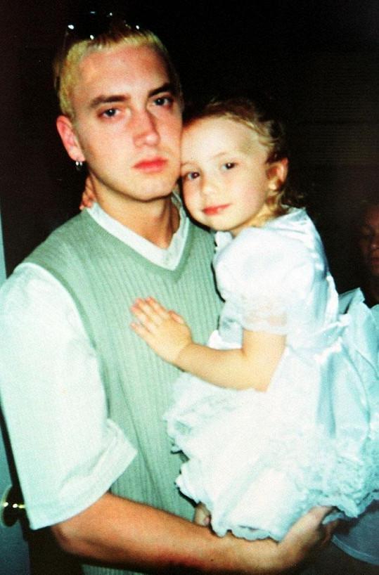 Malá Hailie s otcem Eminemem