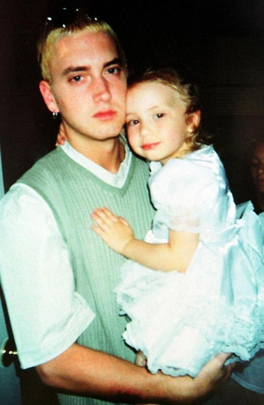 Malá Hailie s tátou Eminemem
