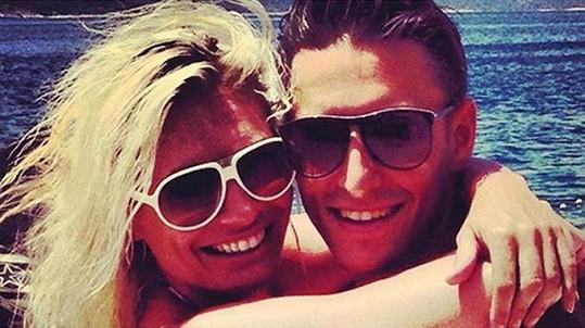 Lucie Borhyová a Michal Hrdlička jsou zamilovaní až po uši.
