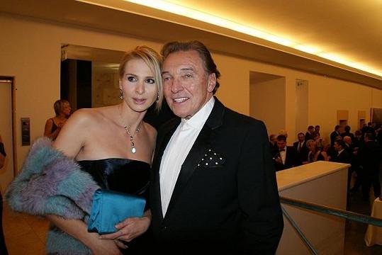 Ivana a Karel Gott.