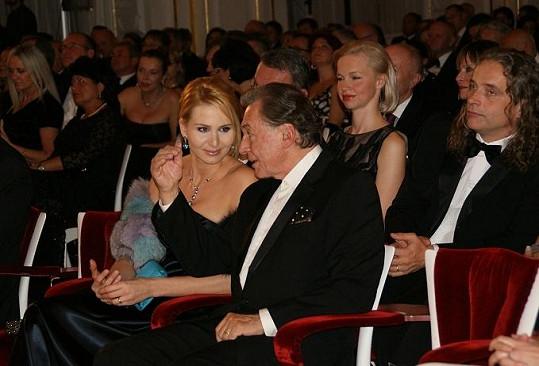 Gottová byla na úspěšného manžela patřičně hrdá.