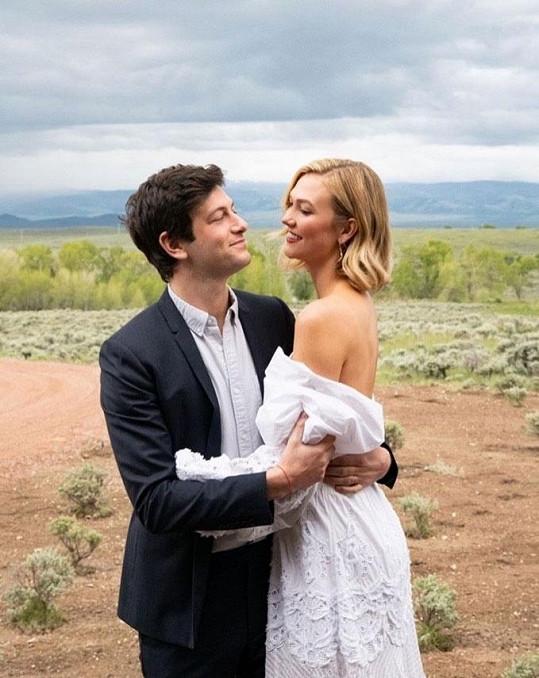 Během svatebního obřadu ve Wyomingu