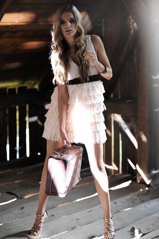 Veronika Chmělířová je jednou z naších nejžádanějších modelek.