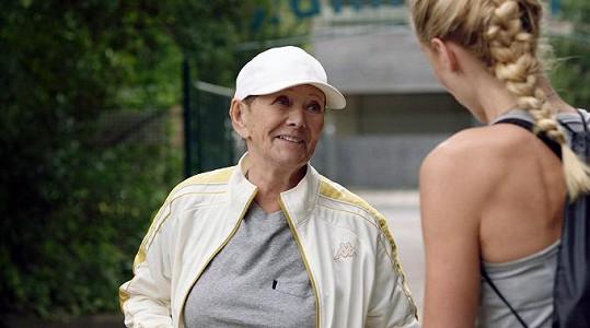Zdena Hadrbolcová se nejnověji objevila ve filmu Přes prsty.