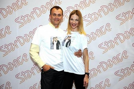 Pavlína Němcová a její tanečník minule vypadli.