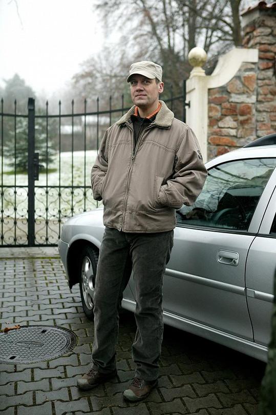 V seriálu si zahrál David Matásek.