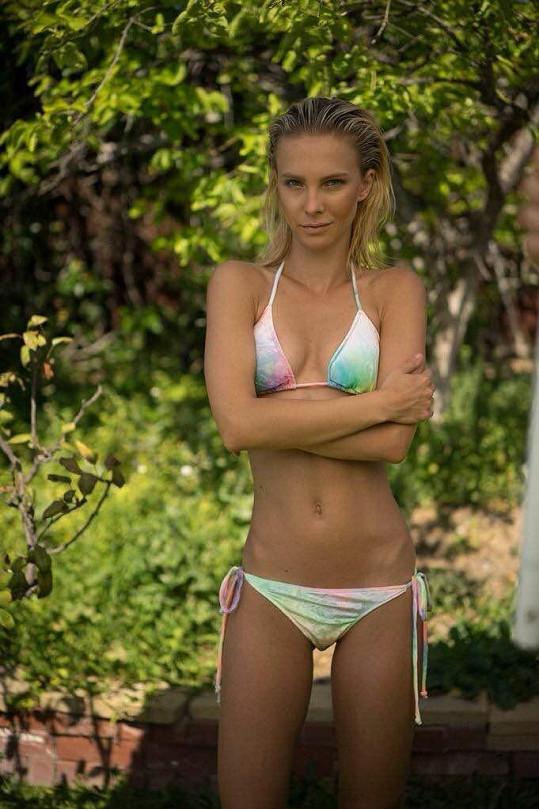 Tereza Jelínková v kampani Kinsman Swim