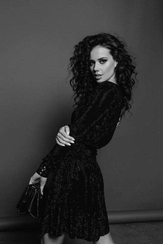 Modelka Gášpárová se snaží prosadit u filmu.