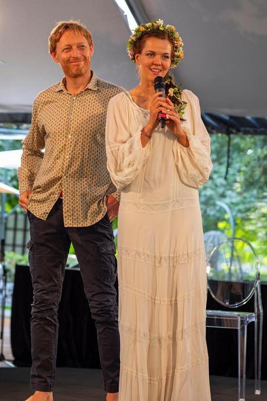 Karel Janeček a Lilia Khousnoutdinova