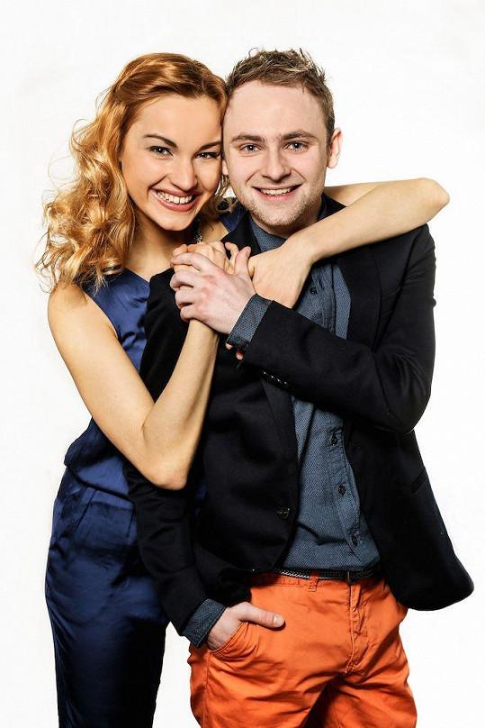 Jakub Štěpán a Andrea Daňková