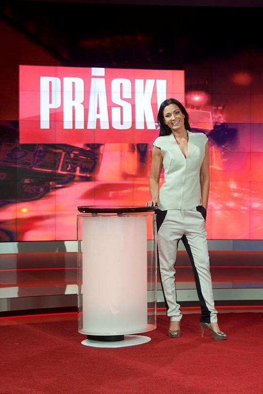 Gabriela Partyšová po letech moderuje bulvární magazín.