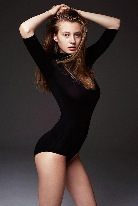 Kratochvílová je etablovanou modelkou.