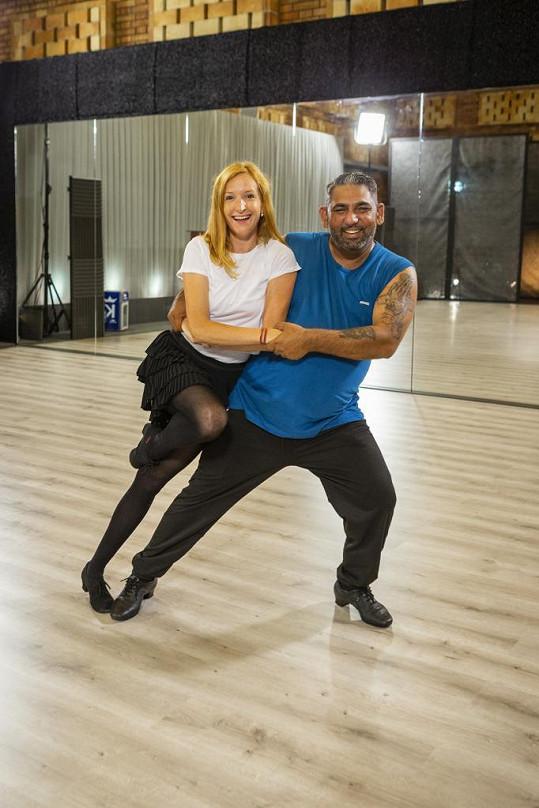 Soutěžit bude s tanečnicí Terezou Pruckovou